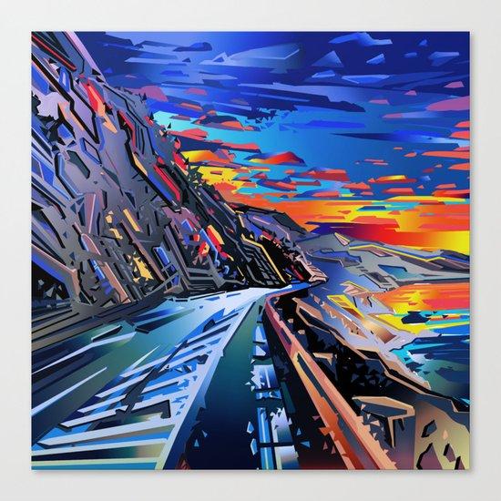 american landscape 8 Canvas Print