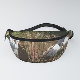 Meeting Pace In The Everglades Fanny Pack