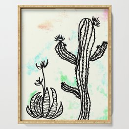 Cactus 23 Serving Tray