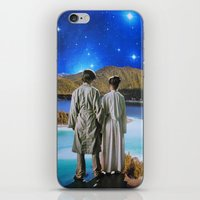 twins iPhone & iPod Skins featuring Twins by John Turck