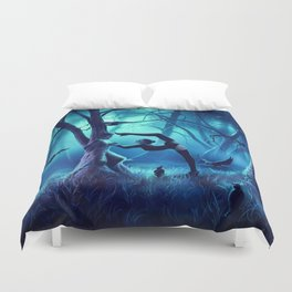 SCORPIO from the Dancing Zodiac Duvet Cover