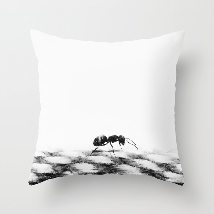 A.N.T Throw Pillow