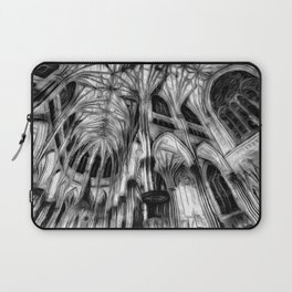 The Haunted Cathedral Laptop Sleeve