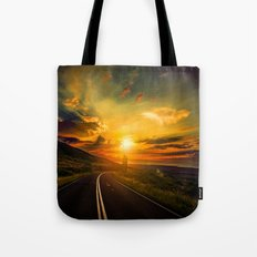 Under Cloud Shine Tote Bag