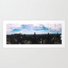 Borobudur Peak Art Print
