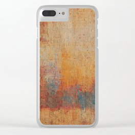 Laguna Colorada Clear iPhone Case