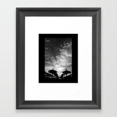 Sky  Explosion Framed Art Print