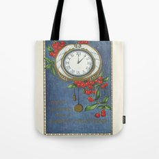Best Wishes for a Vintage New Year Tote Bag