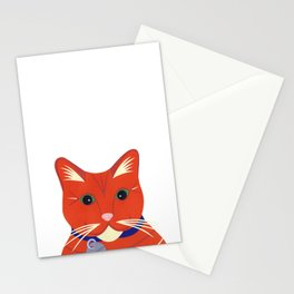 Cute Ginger Cat Stationery Cards