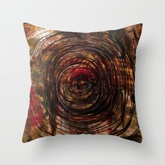 Continuation in Retrospect Throw Pillow
