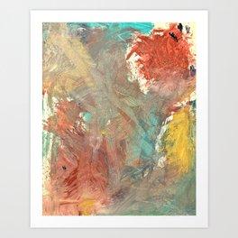 A Voice Cries Out Art Print