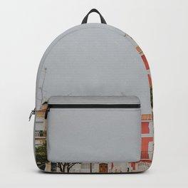 Pastel Coloured Neighbourhood Backpack
