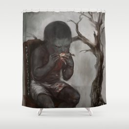 Greed Shower Curtain