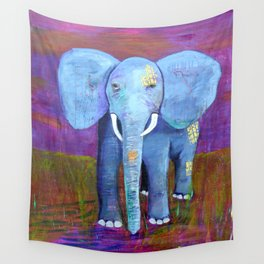 spirit of the elephant Wall Tapestry