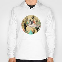 hands Hoodies featuring Found You There  by Sandra Dieckmann