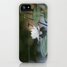 Water Lily 2 iPhone Case