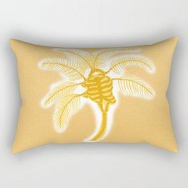 Skeleton Heart Palm Tree Rectangular Pillow