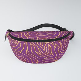 Abstract by Yayoi kusam Fanny Pack