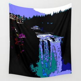 Jazzy Falls Wall Tapestry
