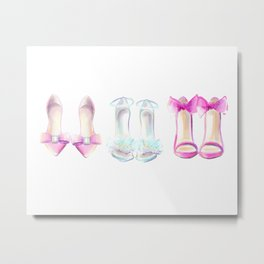 Shoes no 2 Metal Print