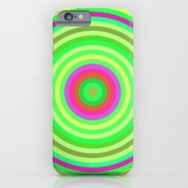 Retro Radial iPhone Case