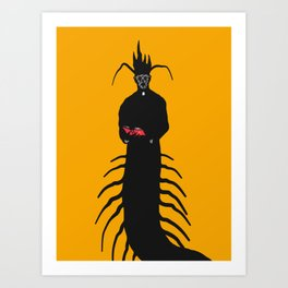 The Centipriest Art Print