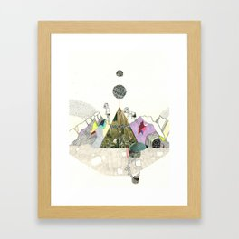 Climbers - Cool Kids Climb Mountains Framed Art Print