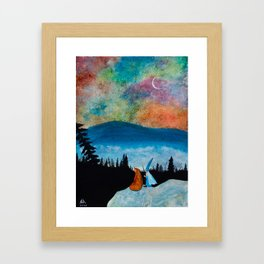 The Bear and the Wizard Framed Art Print
