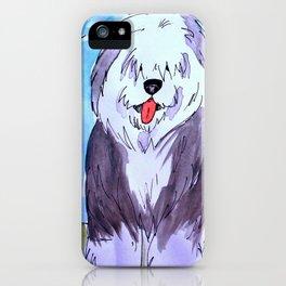 Old English Sheepdog iPhone Case