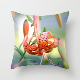 Lovely Lady Takes A Bow Throw Pillow