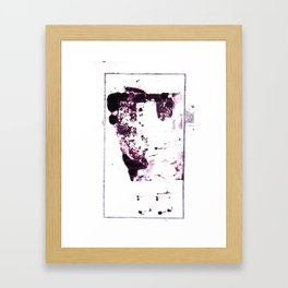 Rain of Poems #2 Framed Art Print