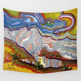 Earth Changes 1985 Wall Tapestry