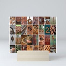 Rust in Art Mini Art Print