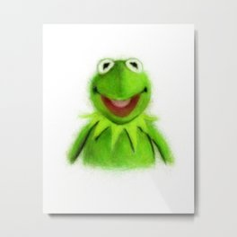 Kermit Metal Print
