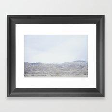 minimal Framed Art Print