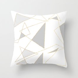 Duo of Triangles Throw Pillow