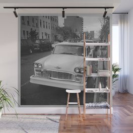 That's Classic Black and White Car Photography Wall Mural