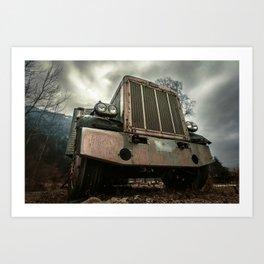 Rusty Warrior Art Print