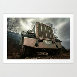 Rusty Warrior Art Print
