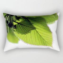 Baby Basswood Leaves Rectangular Pillow