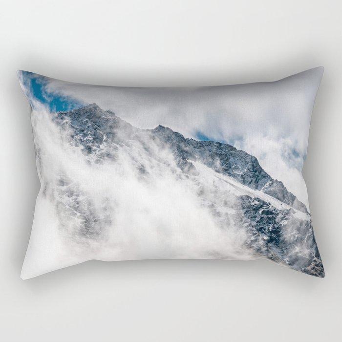 Misty Mountain II Rectangular Pillow