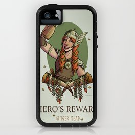 Hero's Reward Ginger Mead iPhone Case