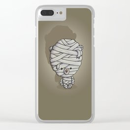 Ted's all Wrapped Up Clear iPhone Case