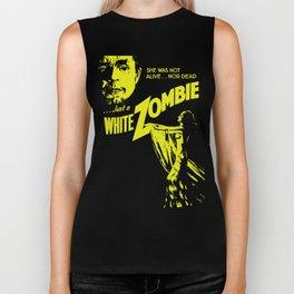 White Zombie Biker Tank