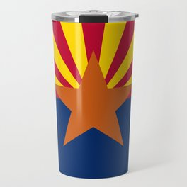 Arizona flag, High Quality Authentic Travel Mug