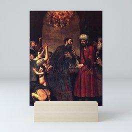 Giovanni Bernardino Azzolini - San Paolino Che Libera Lo Schiavo Mini Art Print
