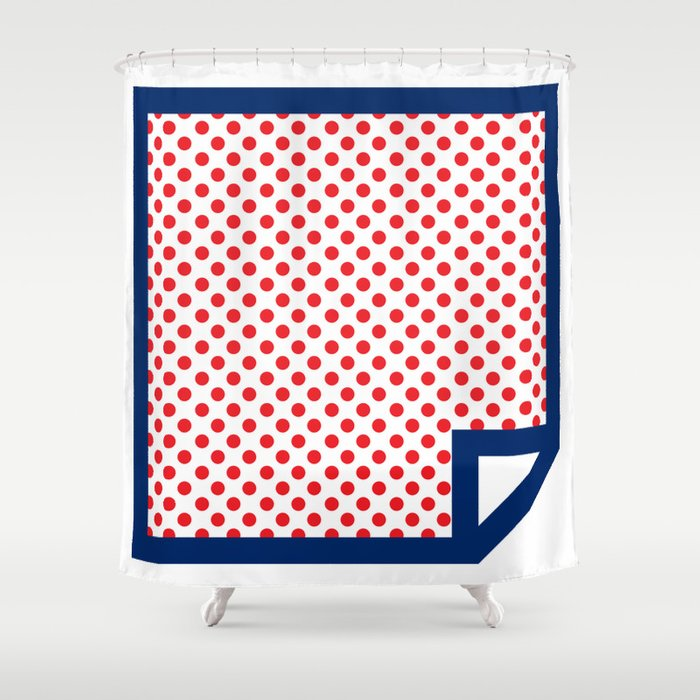 Lichtenswatch - Cold Shoulder Shower Curtain