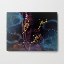 The Dragon Ballet Metal Print