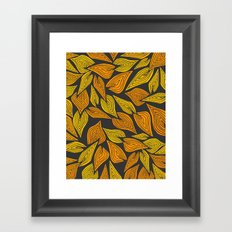 Autumn Night Framed Art Print