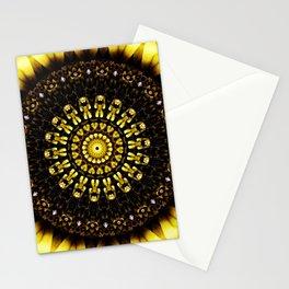 Sunflower Manipulation 2 Stationery Cards